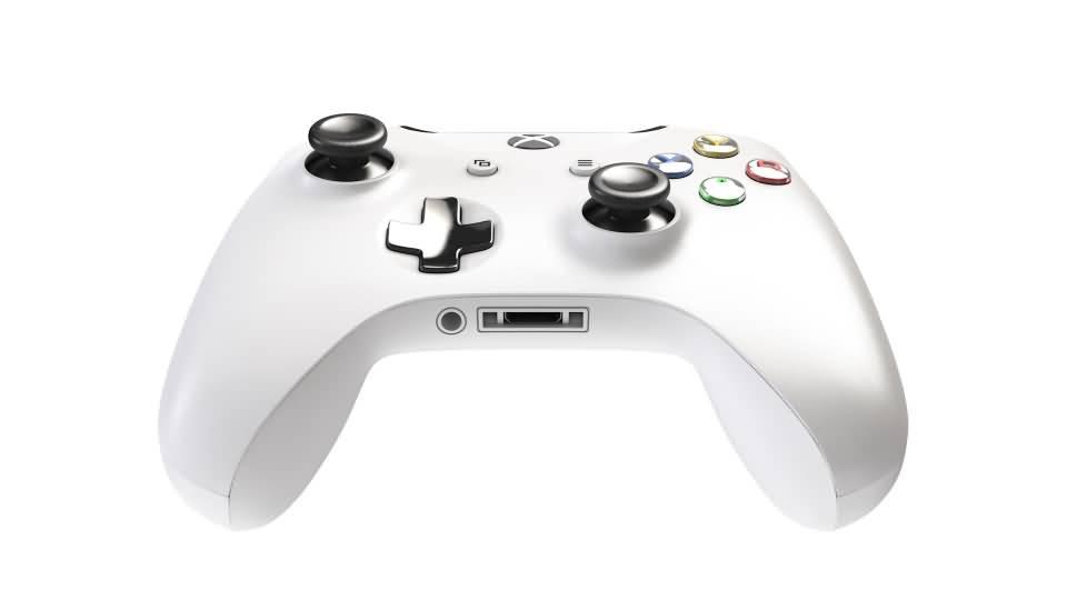 3D模型:Xbox One 游戏手柄控制器 3D模型 (OBJ/C4D格式) 免费下载 - R站|学习使我快乐! - 2