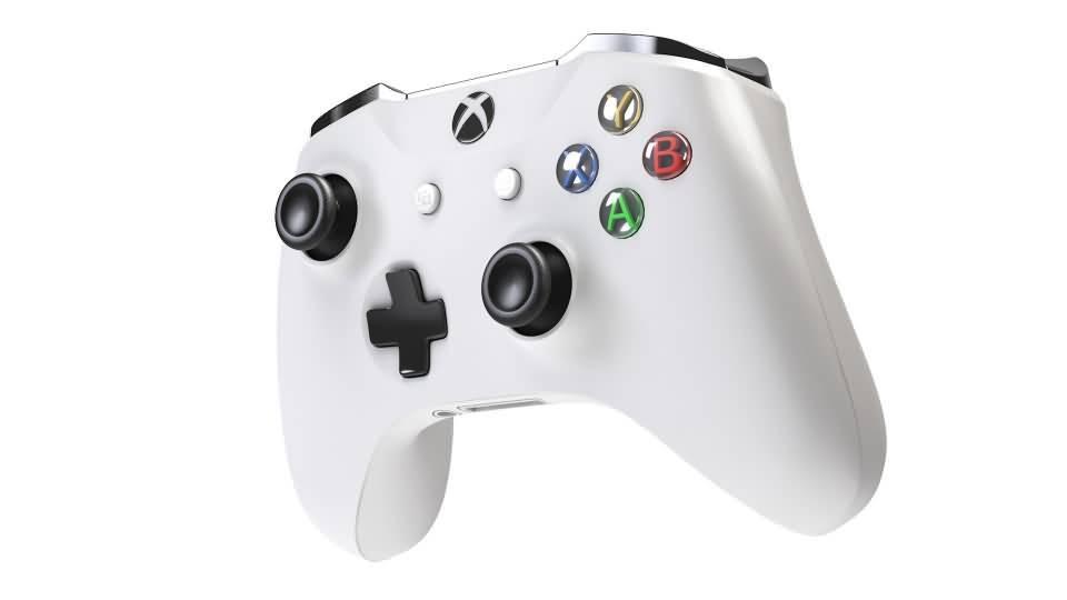 3D模型:Xbox One 游戏手柄控制器 3D模型 (OBJ/C4D格式) 免费下载 - R站|学习使我快乐! - 5