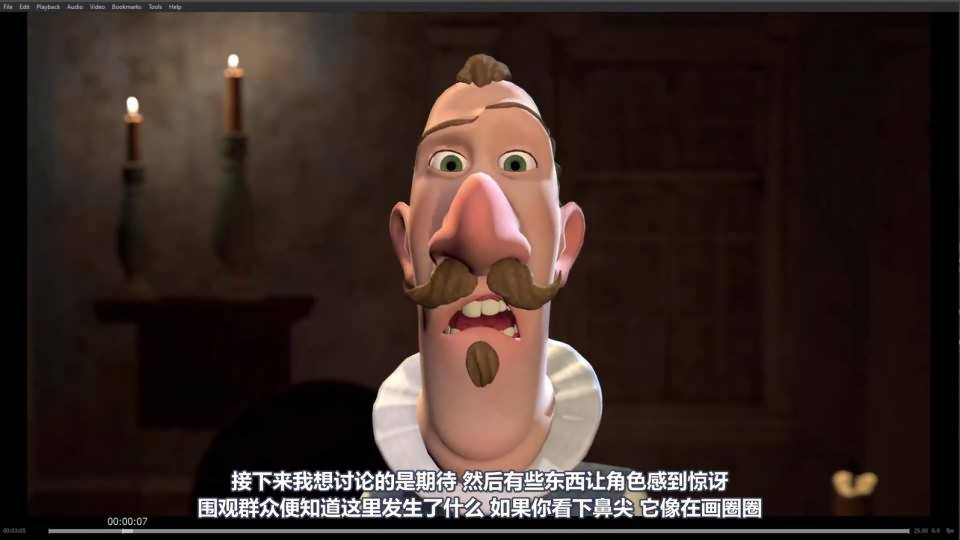【R站译制】C4D教程 《人物角色宝典》L'Artista 短片的脸部绑定 工作流程及技术 (9P/01:25:48) Face Rig 视频教程 - R站 学习使我快乐! - 9