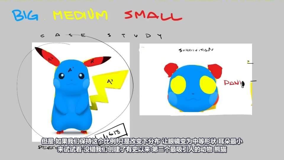 【R站译制】CG&VFX《视觉设计理论》大 - 中 - 小 拓展你的设计思路 Big Medium Small 视频教程 免费观看 - R站|学习使我快乐! - 4