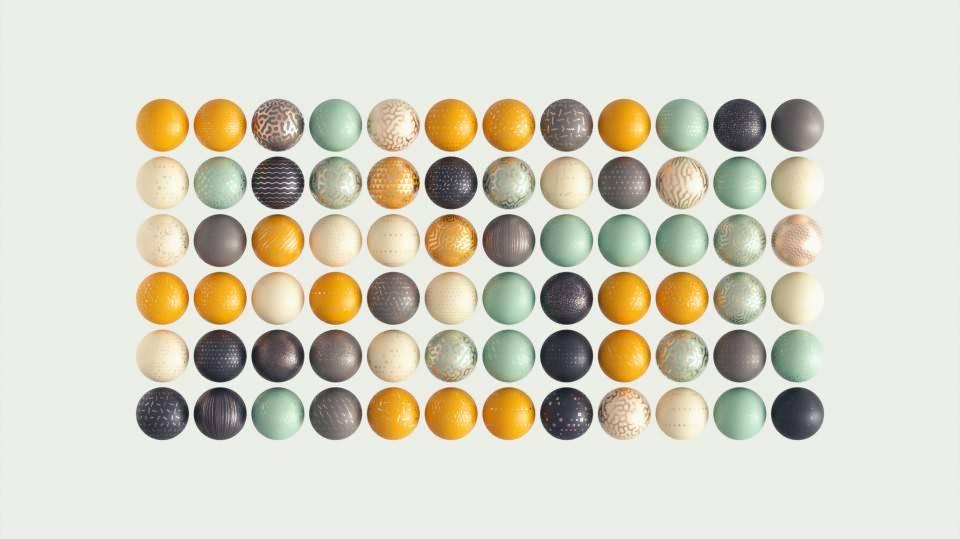 C4D预设: 276个材质预设 GSG Modern Surface Material Collection (MSMC v2 for Arnold Redshfit Octane) 免费下载 - R站|学习使我快乐! - 1