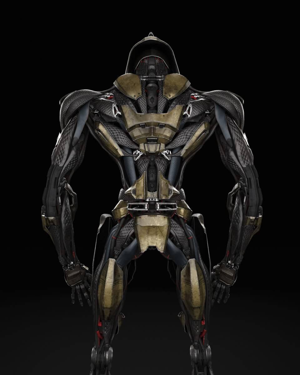 3D模型:炫酷的科幻机器人三维模型设计 Robotic Design (Fbx/Mb格式含材质贴图) - R站 学习使我快乐! - 4