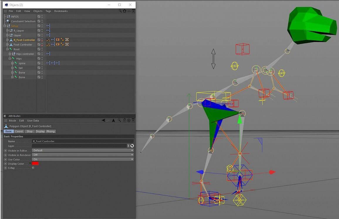 【C4D插件】神佬的动画绑定插件包 Cactus Dan's CD Tools  for C4D R14~S24 免费下载 - R站|学习使我快乐! - 5