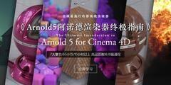 【R站出品】中文字幕 《Arnold5阿诺德渲染器终极指南》The Ultimate Introduction to Arnold 5 for Cinema 4D 视频教程 强烈推荐!!!