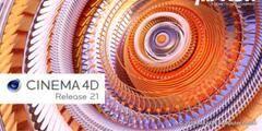 三维软件 Maxon Cinema 4D Studio R21.207 Release 多国语言正式PJ版  WIN/MAC(含预设库) 免费下载