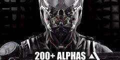 纹理贴图:200个ZBrush硬面组件笔刷模型 Gumroad – Zbrush 200+ Alphas Block Out Hard Suface 免费下载