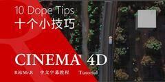 【R站译制】中文字幕《关于C4D的十个小技巧》光头大佬 10 Dope Cinema4D Tips Vol.2 视频教程 免费观看
