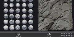 ZBrush笔刷:岩石砖墙悬崖石头木材笔刷 Gumroad - Custom Zbrush Brush Combo Pack (ZBP格式) 免费下载